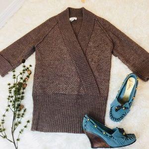 ANN TAYLOR Loft Alpaca Sweater